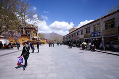 Lhasa, Tibet Royalty Free Stock Images