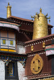 Lhasa - Tibet. The Jokhang Temple in Lhasa in the Tibet Autonomous region of China. The Jokhang,  (also called the Qokang Monastery, Jokang, Jokhang Temple Royalty Free Stock Images