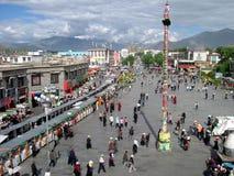 Lhasa, Tibet Stock Foto's