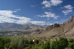 Lhasas omgeende berg Royaltyfria Foton