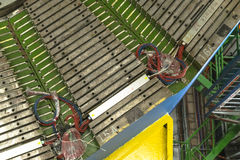 Lhcb detector in cern, geneva. Buildings in CERN , LHCb detector experiment . Geneva Switzerland stock photography
