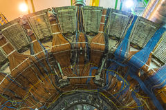 Lhcb detector in cern, geneva Royalty Free Stock Photos