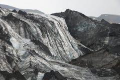 Lheimajökull de ³ de l'Islande Sà Photos libres de droits