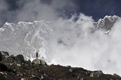 Lhotse Immagini Stock