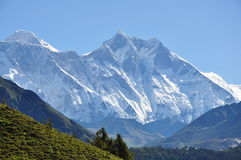 Lhotse Royalty Free Stock Photo