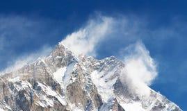 Lhotse Immagine Stock
