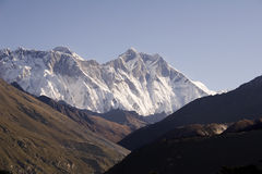 Lhotse - Nepal Stock Photo