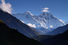 Lhotse peak Royalty Free Stock Images