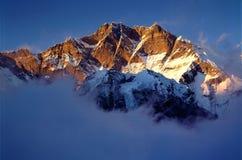lhotse Zuidengezicht Stock Afbeeldingen