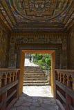 Lhuentse Dzong στο ανατολικές Μπουτάν - την Ασία στοκ εικόνες
