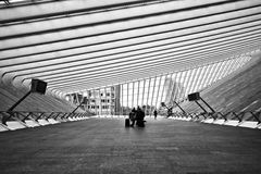 Liège Guillemins Стоковая Фотография