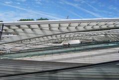 Liège-Guillemins järnvägsstation, Belgien Royaltyfria Foton