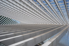 Liège-Guillemins station, België Royalty-vrije Stock Fotografie