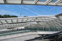 Liège-Guillemins station, België Royalty-vrije Stock Foto's