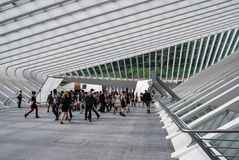 Liège-Guillemins station, België Royalty-vrije Stock Foto