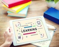 A lição da educação aprende o estudante Concept do estudo fotos de stock