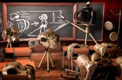 Lição da fotografia ilustração stock