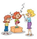 Lição da música ilustração do vetor
