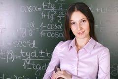 Lição da matemática Imagens de Stock