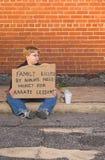 Lições do karaté Imagem de Stock Royalty Free