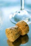 Liège de champagne Photos libres de droits