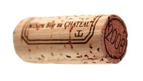 Liège de vin Image stock