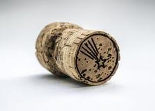 Liège de vin Photographie stock libre de droits