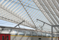 Liège-Guillemins Photo stock