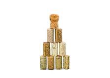 Lièges de bouteille de vin Image stock