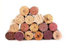 Lièges de vin Photographie stock libre de droits