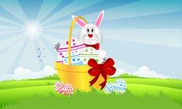 Lièvres de Pâques illustration libre de droits