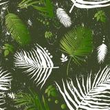 liść bezszwowy deseniowy ilustracji