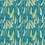 liść bezszwowy deseniowy Fotografia Stock