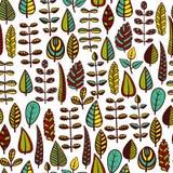 liść deseniują bezszwowego Zdjęcie Stock
