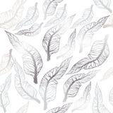 liść deseniują bezszwowego wektor Zdjęcie Stock