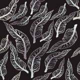 liść deseniują bezszwowego wektor Zdjęcie Royalty Free
