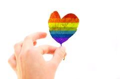 liść miłości Zdjęcia Royalty Free