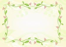 Liść naturalna rama Obraz Stock