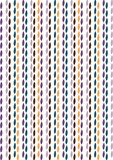 liść retro deseniowy Fotografia Stock
