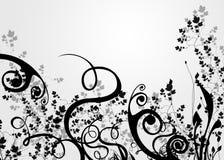 liści tła ilustracji
