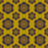 Liścia kwiatu wzoru abstrakci płatowata grafika Obrazy Stock