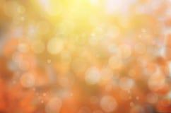 Liścia spadku abstrakta tło Zdjęcie Royalty Free