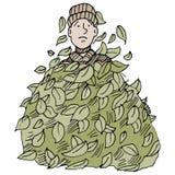 Liścia stos Zdjęcie Stock