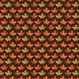 Liścia wzór na brązie Zdjęcie Royalty Free