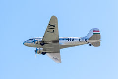 Li-2 airplane (HA-LIX) Stock Image