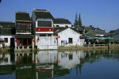 Li antique chinois de pinces de ville Image stock