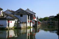 Li antique chinois de pinces de ville Image libre de droits