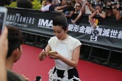 Li Bingbing Stock Photography