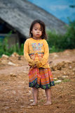 Li child of Sapa, Vietnam Stock Photography