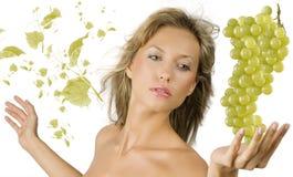 liści z winogron Zdjęcia Royalty Free